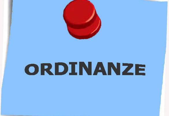 ordinanze